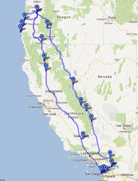 Our 2012 Western Adventure