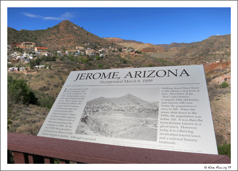View of Jerome from 89A