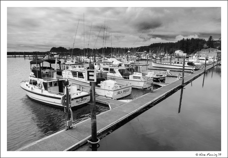 The port of Ilwaco