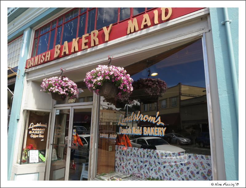 A Danish Bakery in downtown Astoria...awesome!