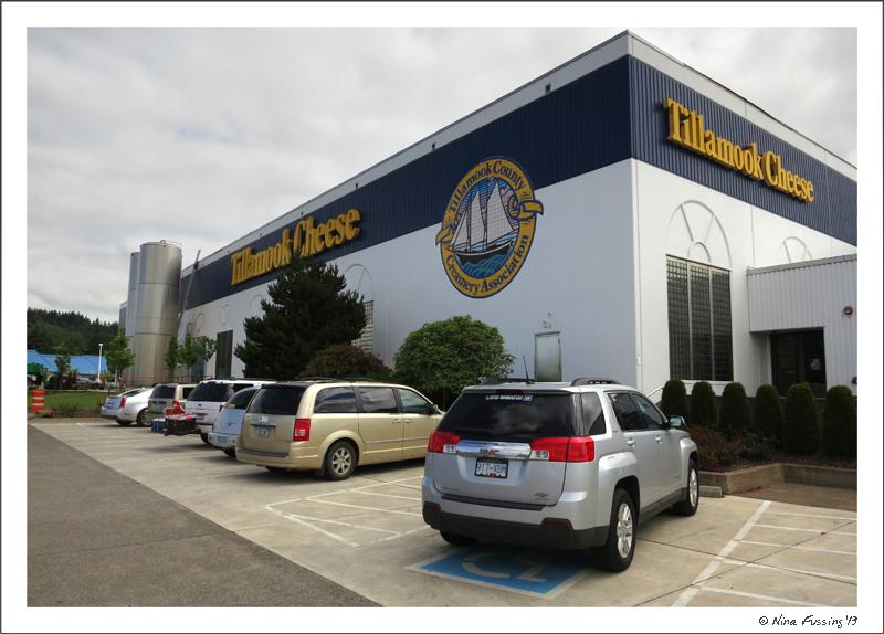 The Tillamook Cheese Factory