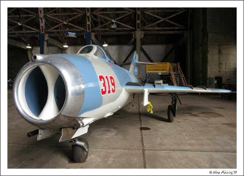 A wonderfully restored MiG-17