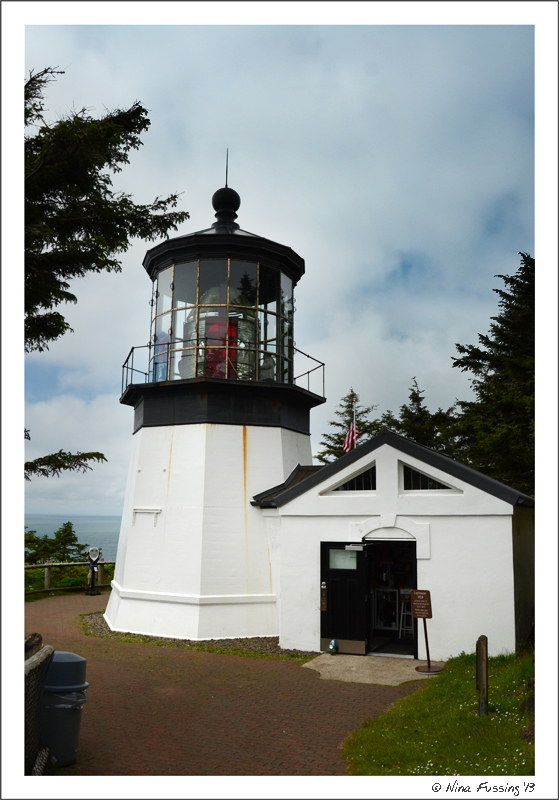 Cape Meares Lighthouse, short and stout