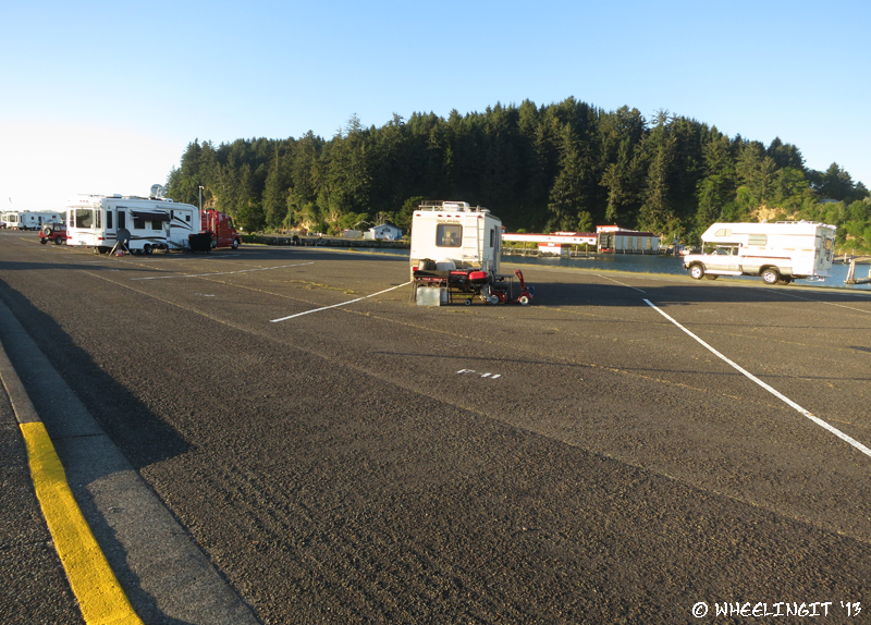 Harbor Campground Review Winchester Bay Marina Or