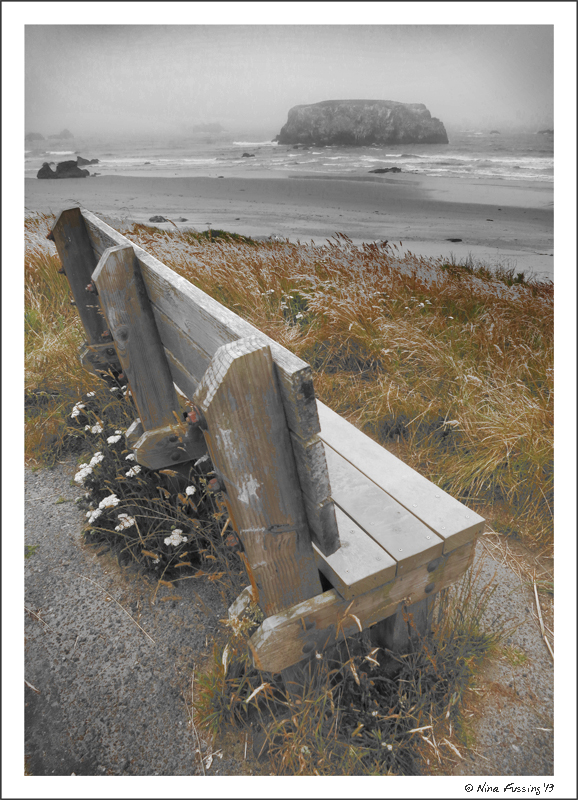 One of the more moody days at Bandon Beach