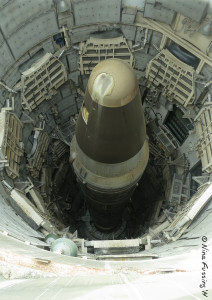 The Titan II Missile as seen from above