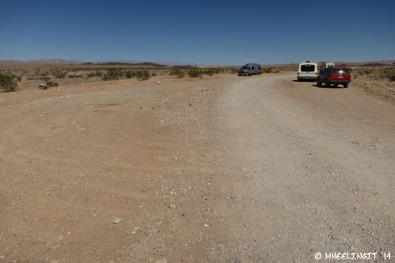 Boondocking at Government Wash, Lake Mead, NV. - Scouting