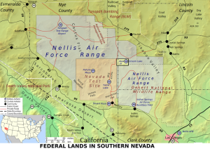 General Map of Area 51 & Hwy 375