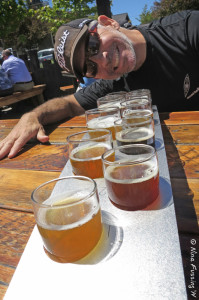 "Hmmm...where to start, where to start. The ""sampler"" at 10 Barrel"