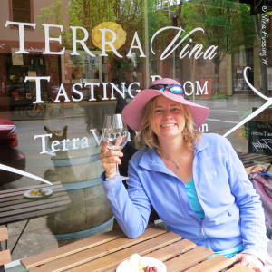 "I ""may"" have been slightly sloshed by this point. At Terra Vina Tasting Room."