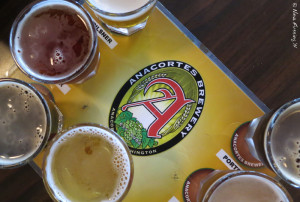 Anacortes Brew flight