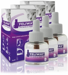 Feliway can be very effective if your cat reacts to it