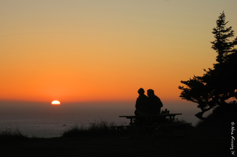 A warm sunset at the Cape