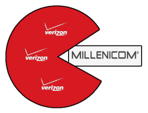 Verizon has taken over all of Millenicom's customers