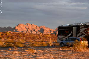 Our spot near on BLM outside the refuge