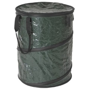 A collapsible trash can is cheap and useful