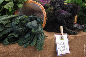 Kale yes, doggies no