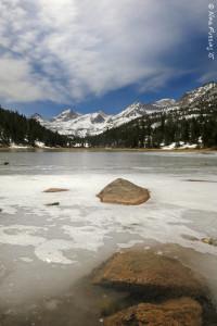 Gorgeous frozen lakes