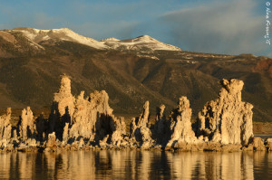 Morning light at the South Tufa's